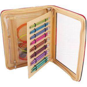 KnitPro Zing Deluxe Interchangeable Knitting Needle Set