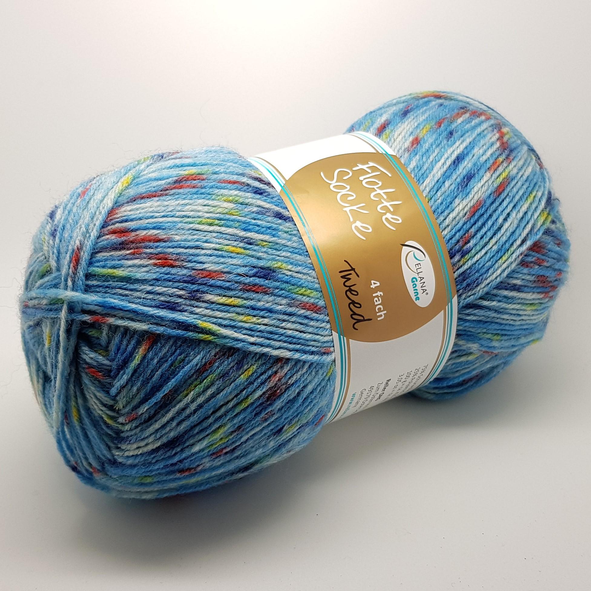 Rellana Flotte socke Tweed kojinių siūlai