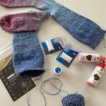 Rellana regenbogen kojinės socks