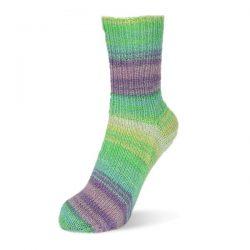 Rellana kojinių mezgimo siūlai