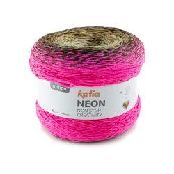 Katia neon mezgimo siūlai